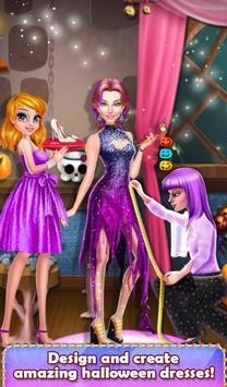 Halloween Spooky Girl Salon screenshot 8