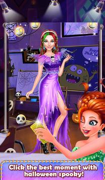 Halloween Spooky Girl Salon screenshot 14