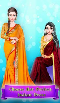 Indian Saree Fashion Salon poster