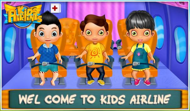 Kids Airline poster