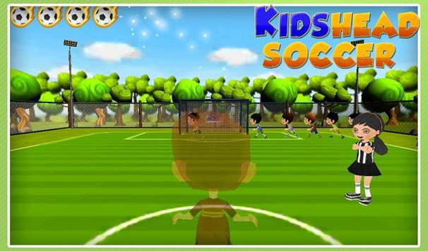 Kids Head Soccer poster