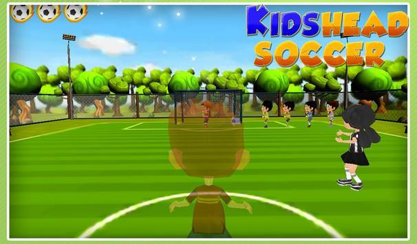 Kids Head Soccer apk screenshot