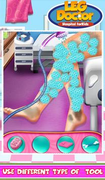 Leg Doctor Hospital For Kids apk screenshot