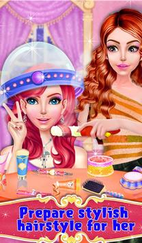 Queen Makeup Fashion Salon スクリーンショット 9