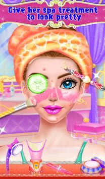 Queen Makeup Fashion Salon スクリーンショット 2