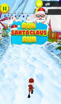 Run Santa Claus Run poster