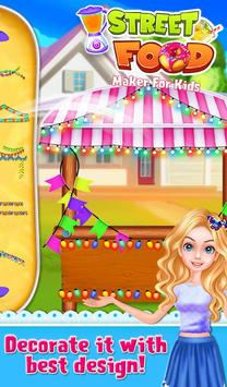 Street Food Maker For Kids screenshot 4