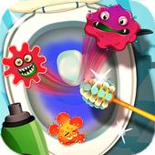 Toilet Makeover -Kids Fun Game icon