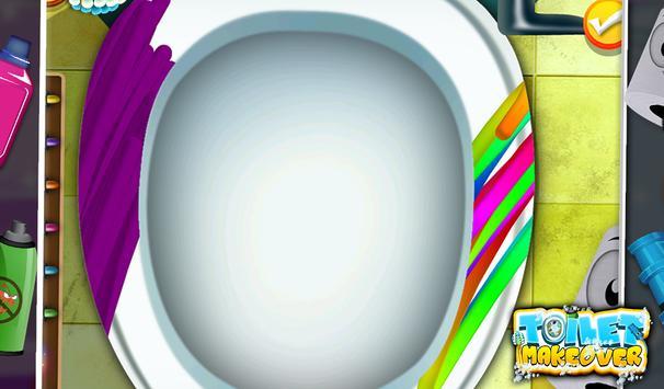 Toilet Makeover -Kids Fun Game screenshot 2