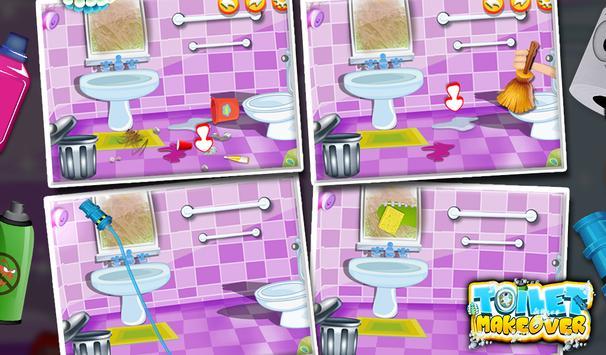 Toilet Makeover -Kids Fun Game screenshot 6