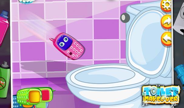 Toilet Makeover -Kids Fun Game screenshot 9