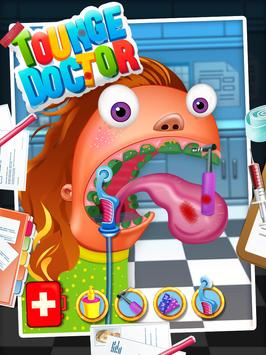 Tongue Doctor - Free Kids Game screenshot 8