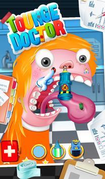 Tongue Doctor - Free Kids Game screenshot 1