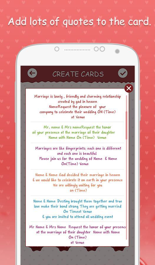 Wedding Invitation Cards For Android Apk Download