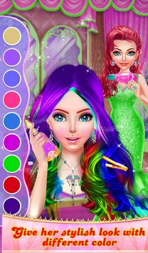 Wedding Princess Hair Do Design HairStyles screenshot 19