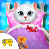 Menginstal Game android Cute Kitty's Bedtime Activities APK free