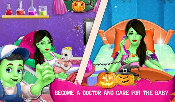 Halloween Mommy NewBorn Baby Care Hospital screenshot 3