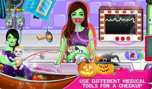 Halloween Mommy NewBorn Baby Care Hospital screenshot 11