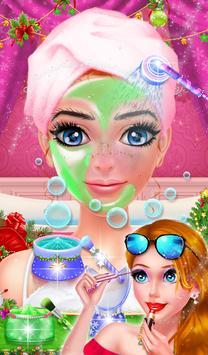 Cute Santa Fashion Salon Spa poster