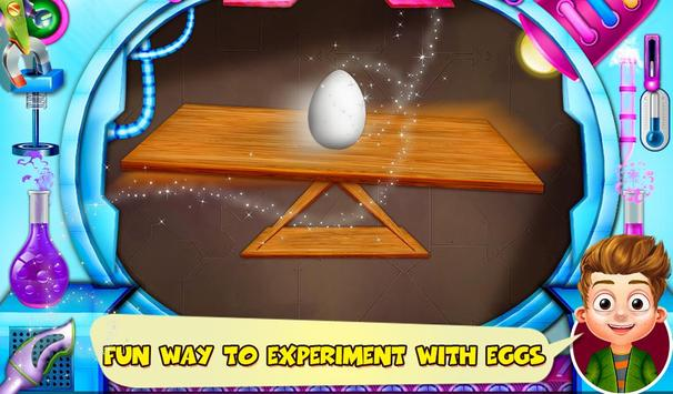 Science Experiments With Eggs poster