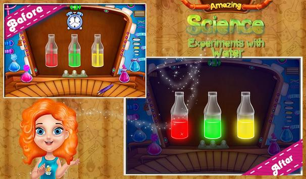 Science Experiments With Water poster