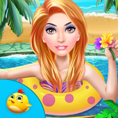 Princess Swimming Celebration icon