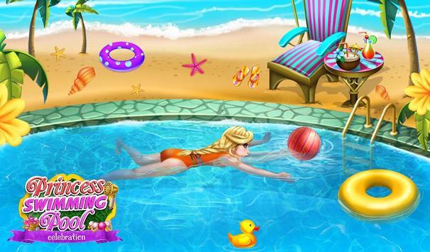 Princess Swimming Celebration apk screenshot