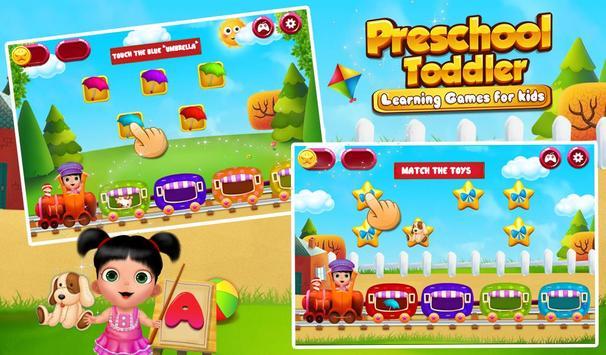 Preschool Toddler Learning screenshot 11