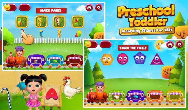Preschool Toddler Learning screenshot 3