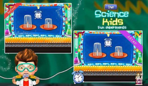Science Experiment For Kids poster