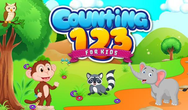 Counting 123 For Kids poster