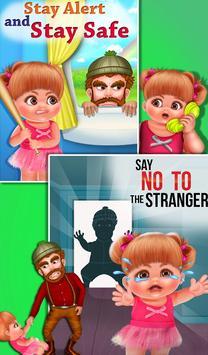 Child Safety Stranger Danger poster
