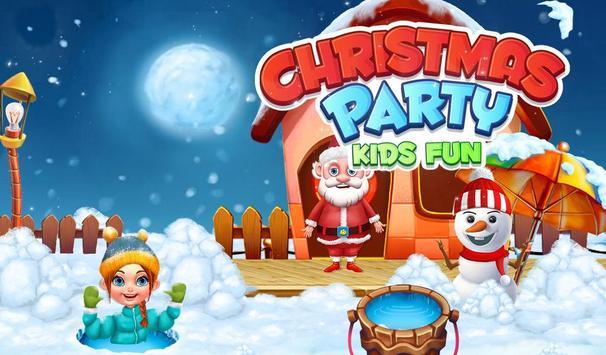 Christmas Party Kids Fun poster