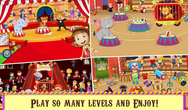 Circus Hidden Objects Fun screenshot 4