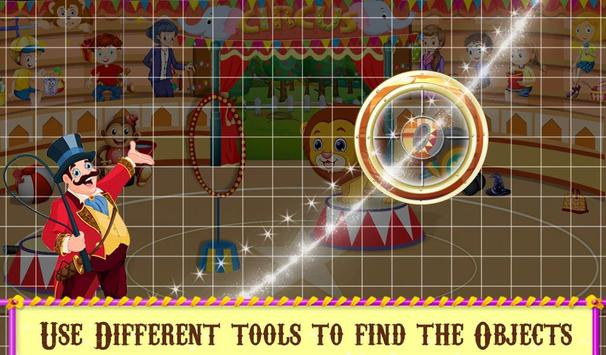 Circus Hidden Objects Fun screenshot 10
