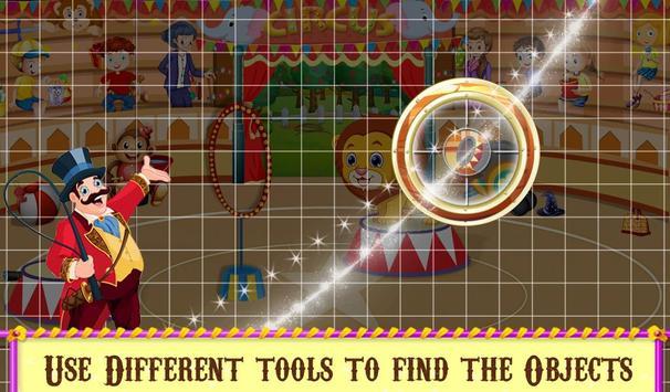 Circus Hidden Objects Fun screenshot 2