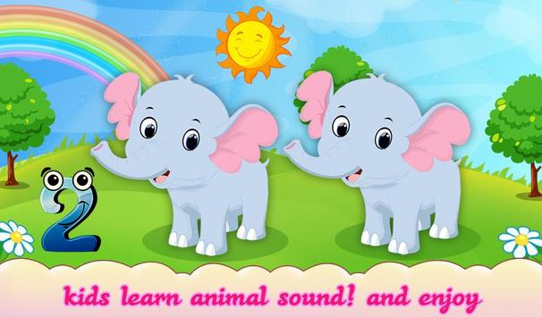 Animal Counting Touch & Play screenshot 1