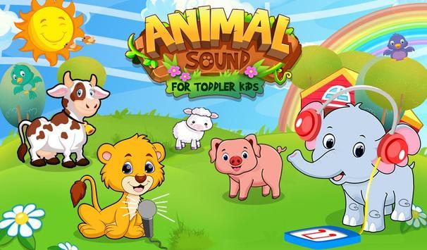 Animal Sound For Toddler Kids poster