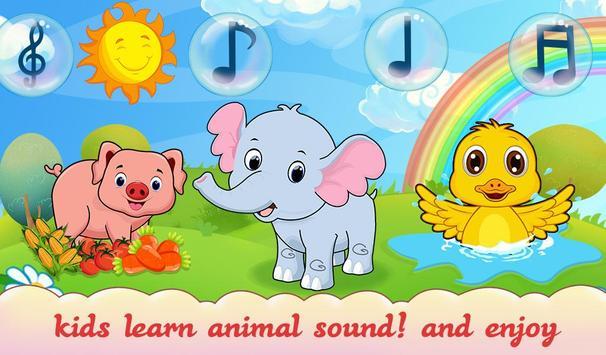 Animal Sound For Toddler Kids screenshot 1