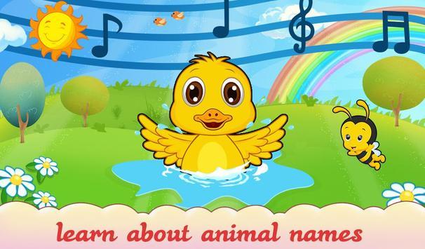 Animal Sound For Toddler Kids screenshot 2