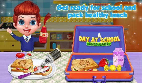 A Day At School : Kids Game screenshot 1