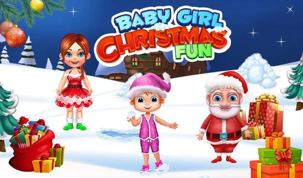 Baby Girl Christmas Fun poster