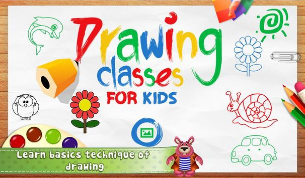 Drawing Classes For Kids poster