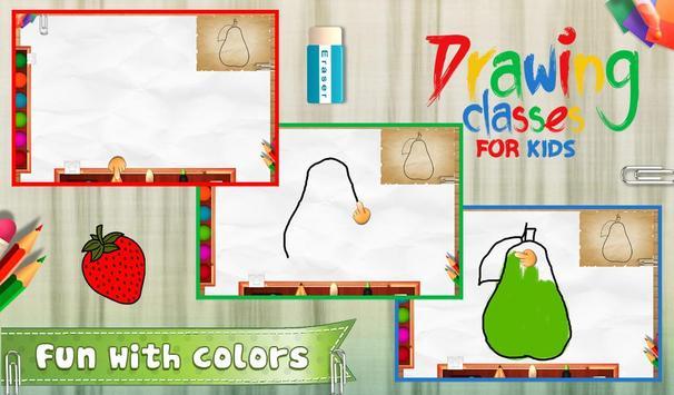 Drawing Classes For Kids apk screenshot