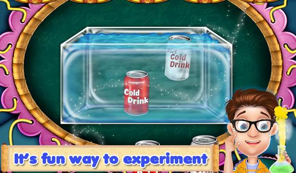 Easy Science Experiment Fair poster