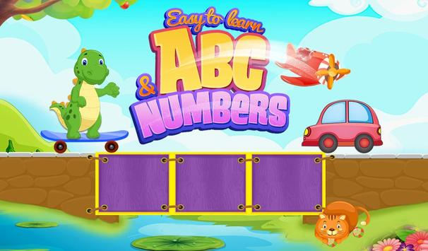 Easy To Learn ABC & Numbers poster