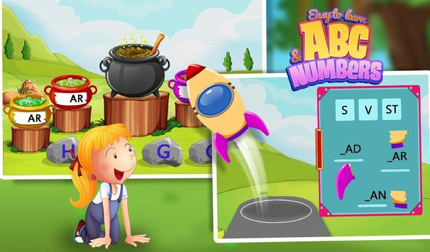 Easy To Learn ABC & Numbers screenshot 4