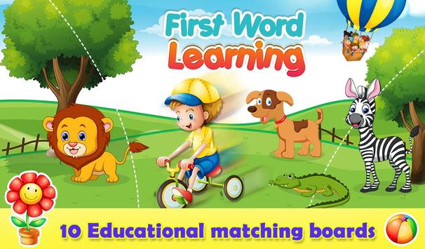 First Word Learning poster