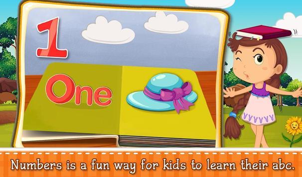 Kids ABC Numbers Pop Up Book screenshot 1