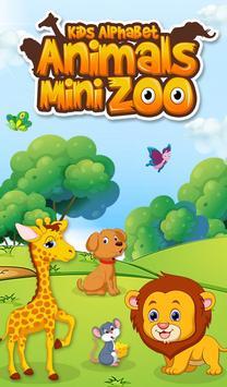 Kids Alphabet Animals Mini Zoo poster